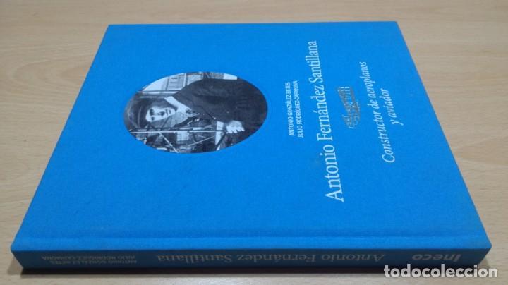 ANTONIO FERNANDEZ SANTILLANA - CONSTRUCTOR DE AEROPLANOS Y AVIADOR - VER FOTOS (Libros de Segunda Mano - Ciencias, Manuales y Oficios - Física, Química y Matemáticas)