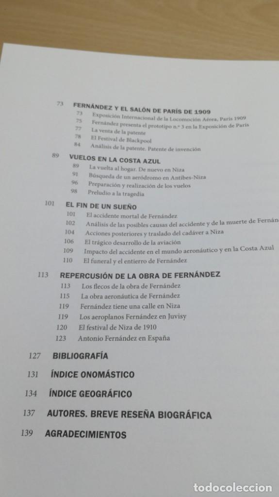 Libros de segunda mano de Ciencias: ANTONIO FERNANDEZ SANTILLANA - constructor de aeroplanos y aviador - VER FOTOS - Foto 9 - 158993522