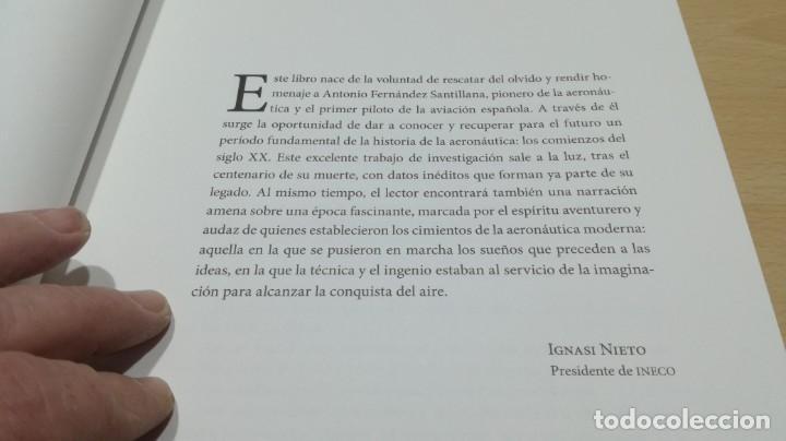 Libros de segunda mano de Ciencias: ANTONIO FERNANDEZ SANTILLANA - constructor de aeroplanos y aviador - VER FOTOS - Foto 10 - 158993522