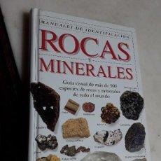 Libros de segunda mano: ROCAS Y MINERALES, DE CHRIS PELLANT. MANUALES DE IDENTIFICACIÓN. OMEGA, 1993. MUY ILUSTRADO.. Lote 159297802