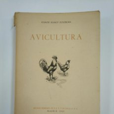 Libros de segunda mano: AVICULTURA. - RAMON RAMOS FONTECHA. - 1943. SECCION FEMENINA DE F.E.T. Y DE LAS J.O.N.S. TDK382. Lote 159473666