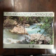 Libros de segunda mano: ATLAS HIDROGEOLÓGICO DE LA PROVINCIA DE JAÉN. Lote 159597260