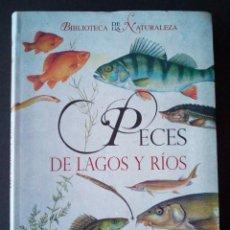 Libros de segunda mano: CTC - PECES DE LAGOS Y RIOS - TIKAL SUSAETA 2009 - BIBLIOTECA DE LA NATURALEZA - NUEVO. Lote 159914934