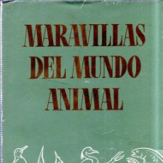 Libros de segunda mano: MARAVILLAS DEL MUNDO ANIMAL. SELECCIONES DEL READER´S DIGEST. 1961. MED : 20 X 14 CM. 193 PAG.. Lote 160215242