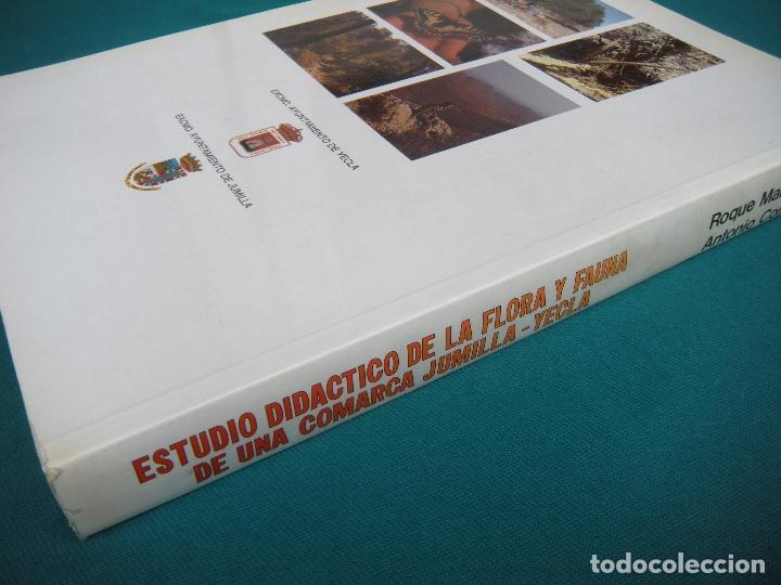 ESTUDIO DIDÁCTICO DE LA FLORA Y FAÚNA DE UNA COMARCA JUMILLA - YECLA. MURCIA (Libros de Segunda Mano - Ciencias, Manuales y Oficios - Biología y Botánica)
