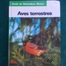 Livres d'occasion: AVES TERRESTRES BLUME. Lote 233505760