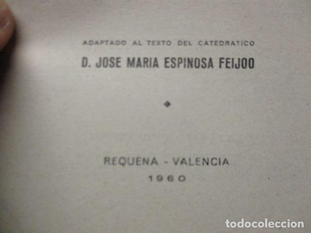 Libros de segunda mano de Ciencias: FISICA Y QUIMICA (CUARTO CURSO DEL BACHILLERATO ELEMENTAL PLAN 1957). - Foto 16 - 160431918