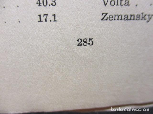 Libros de segunda mano de Ciencias: FISICA Y QUIMICA (CUARTO CURSO DEL BACHILLERATO ELEMENTAL PLAN 1957). - Foto 17 - 160431918