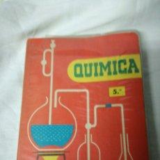 Libros de segunda mano de Ciencias: QUÍMICA 5° EDICIONES S.M. 1964. Lote 160632236