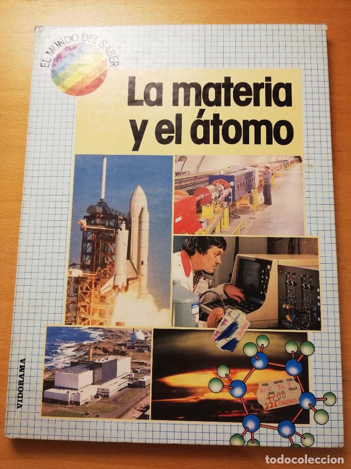 LA MATERIA Y EL ÁTOMO (ROBIN KERROD) VIDORAMA (Libros de Segunda Mano - Ciencias, Manuales y Oficios - Física, Química y Matemáticas)