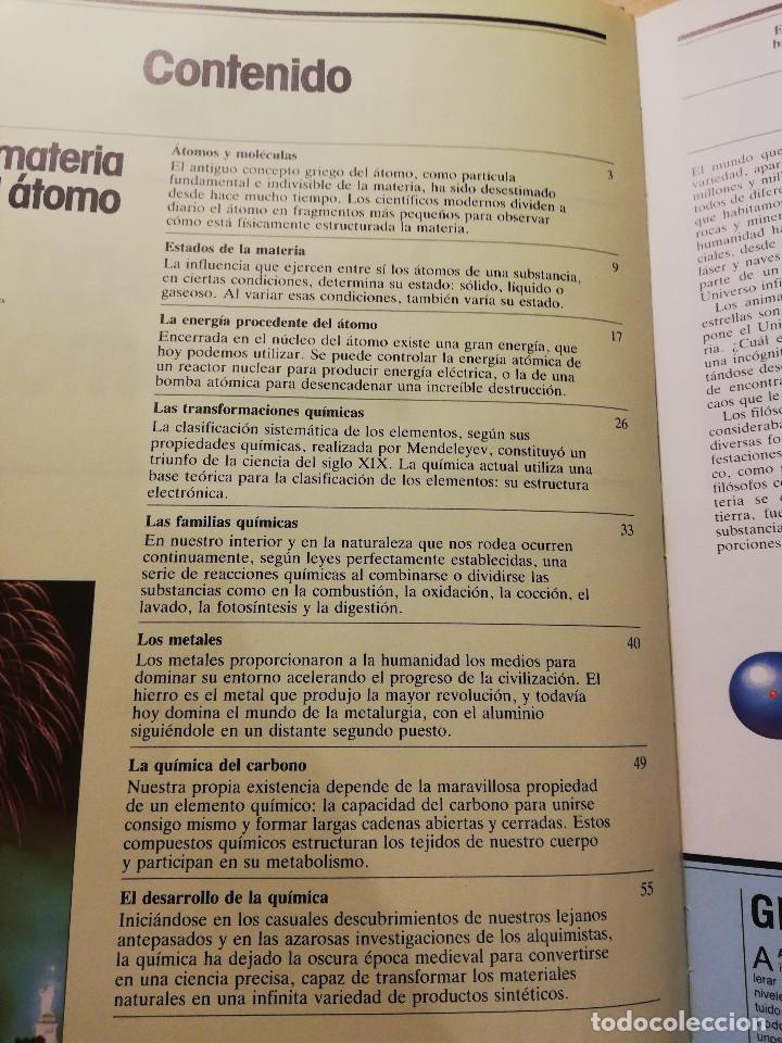 Libros de segunda mano de Ciencias: LA MATERIA Y EL ÁTOMO (ROBIN KERROD) VIDORAMA - Foto 3 - 160672670