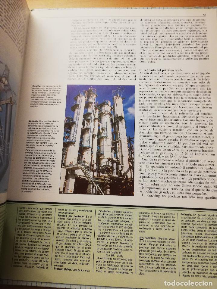 Libros de segunda mano de Ciencias: LA MATERIA Y EL ÁTOMO (ROBIN KERROD) VIDORAMA - Foto 4 - 160672670