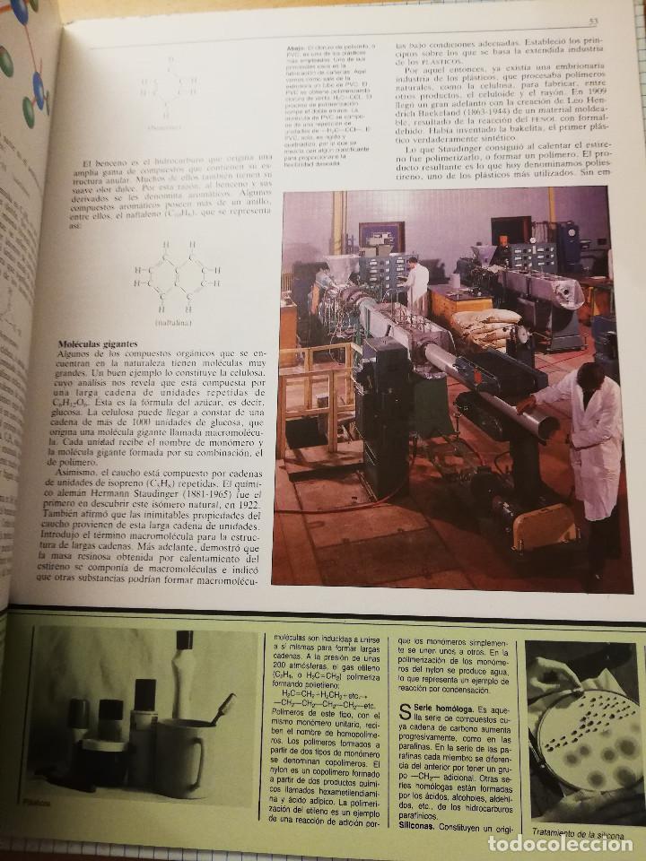 Libros de segunda mano de Ciencias: LA MATERIA Y EL ÁTOMO (ROBIN KERROD) VIDORAMA - Foto 5 - 160672670