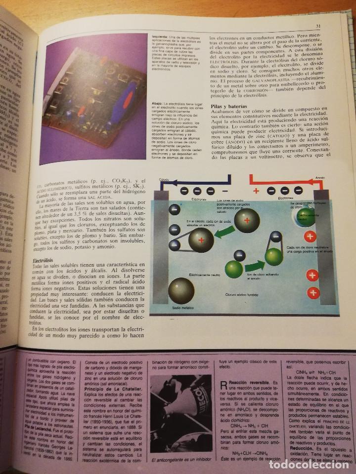 Libros de segunda mano de Ciencias: LA MATERIA Y EL ÁTOMO (ROBIN KERROD) VIDORAMA - Foto 6 - 160672670