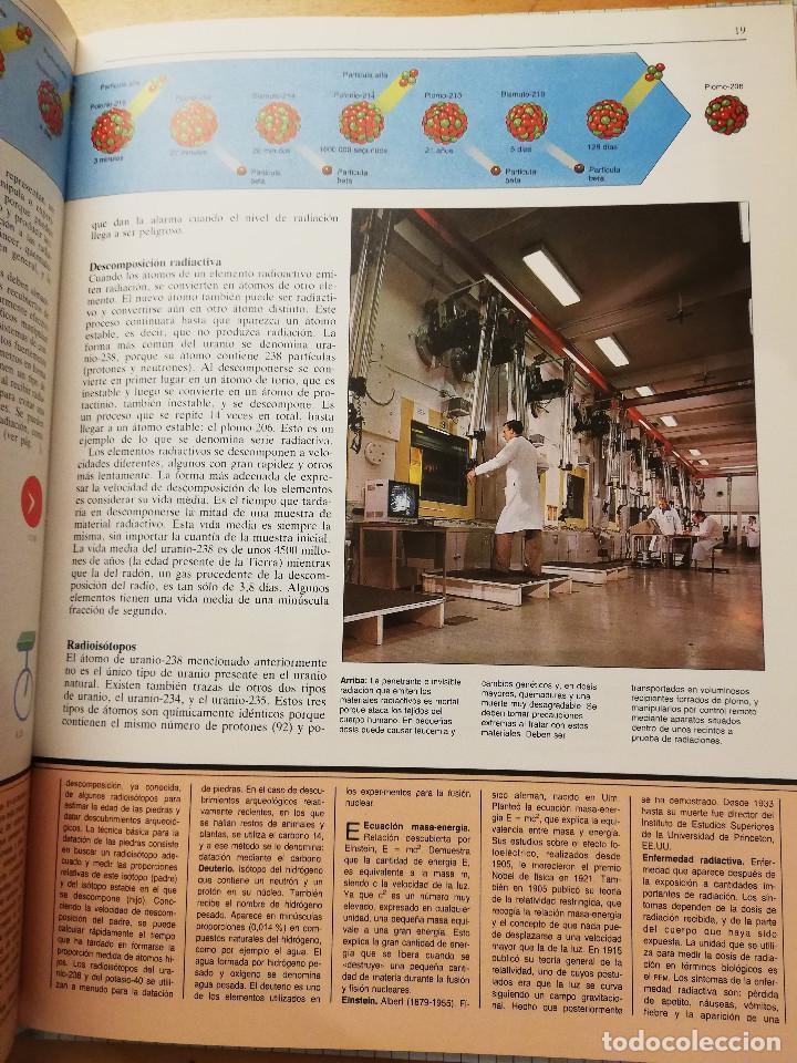 Libros de segunda mano de Ciencias: LA MATERIA Y EL ÁTOMO (ROBIN KERROD) VIDORAMA - Foto 7 - 160672670