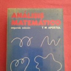 Libros de segunda mano de Ciencias: ANÁLISIS MATEMÁTICO - T.M. APOSTOL. Lote 161245514