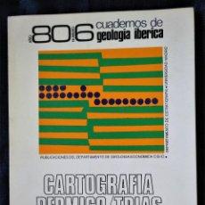 Livres d'occasion: CUADERNOS DE GEOLOGÍA IBÉRICA, AÑO 80, Nº 6, CARTOGRAFÍA PERMICO/TRIAS, S. CENTRAL/ C. IBÉRICA, 1980. Lote 161470850