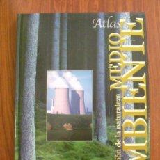 Libros de segunda mano: LIBRO ATLAS PRESERVACIÓN DE LA NATURALEZA MEDIO AMBIENTE - CULTURAL SA. Lote 161723846