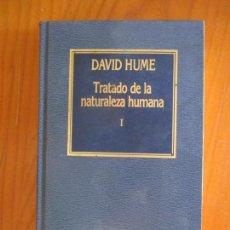 Libros de segunda mano: DAVID HUME. TRATADO DE LA NATURALEZA HUMANA. EDICIONES ORBIS. 1984. Lote 161808850