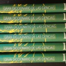 Libros de segunda mano de Ciencias: GRAN DICCIONARIO DE LAS CIENCIAS LAROUSSE: 6 TOMOS - COMPLETA. Lote 181392850