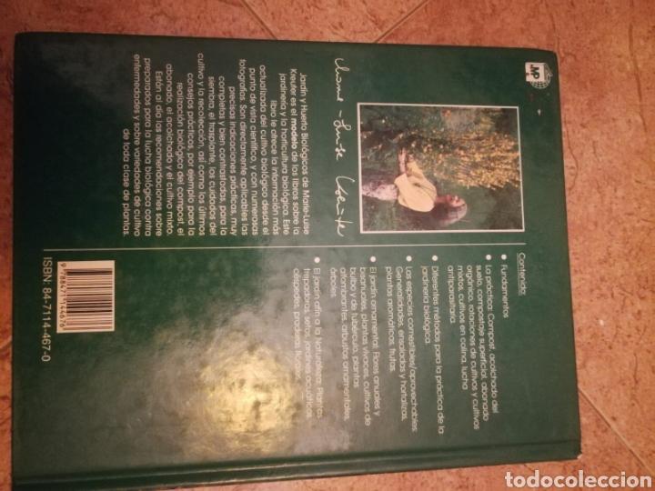 Libros de segunda mano: Libro jardín y huerto biológicos - Foto 2 - 162412054
