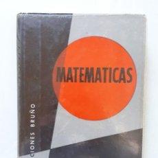 Libros de segunda mano de Ciencias: MATEMÁTICAS 6 CURSO DE BACHILLERATO (PLAN 1957) / EDICIONES BRUÑO 1965. Lote 162474166