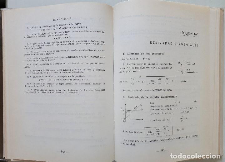 Libros de segunda mano de Ciencias: MATEMÁTICAS 6 CURSO DE BACHILLERATO (PLAN 1957) / EDICIONES BRUÑO 1965 - Foto 8 - 162474166