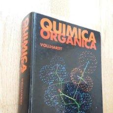 Libros de segunda mano de Ciencias: QUÍMICA ORGÁNICA / PETER C. VOLLHARDT / TRADUCIDO POR FERNANDO ALBERICIO Y OTROS . Lote 162565694