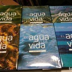 Libros de segunda mano: EL AGUA Y LA VIDA 6 TOMOS 22 BLUE RAY DISC COMPLETA.. Lote 162729217