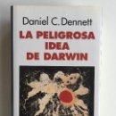 Libros de segunda mano: LA PELIGROSA IDEA DE DARWIN - DANIEL C. DENNETT - GALAXIA GUTEMBERG - EN MUY BUEN ESTADO. Lote 162971542