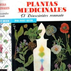 Libros de segunda mano: FONT QUER : PLANTAS MEDICINALES (LABOR, 1992) COMO NUEVO. Lote 163070916