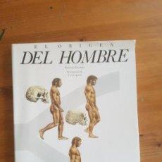 Libros de segunda mano: EL ORIGEN DEL HOMBRE. FACCHINI, FIORENZO PUBLICADO POR AGUILAR (1990) 189 PP . Lote 163550498
