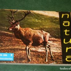 Libros de segunda mano: NATURA. VOLUM I: PRIMERES DESCOBERTES - JOAQUIM FRANK BATLLE 1966. Lote 163578514