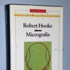 Livres d'occasion: MICROGRAFÍA. Lote 163578518