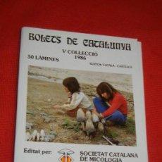Libros de segunda mano: BOLETS DE CATALUNYA V COL·LECCIO (LAMINAS 201 A 250) - SOCIETAT CATALANA MICOLOGIA 1986. Lote 163916530