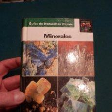 Libros de segunda mano: MINERALES - GUÍAS DE NATURALEZA BLUME - O. MEDENBACH & C. SUSSIECK - BLUME 1ª EDICIÓN 1983 - FOTOS. Lote 164379106