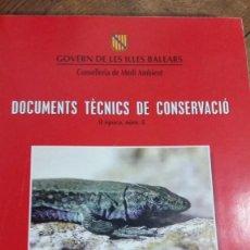 Libros de segunda mano: LIBRO ROJO DE LOS VERTEBRADOS DE LAS BALEARES.2ª EDIC.R. MEJIAS GARCIA Y J. AMENGUAL .PALMA 2000. Lote 164615158
