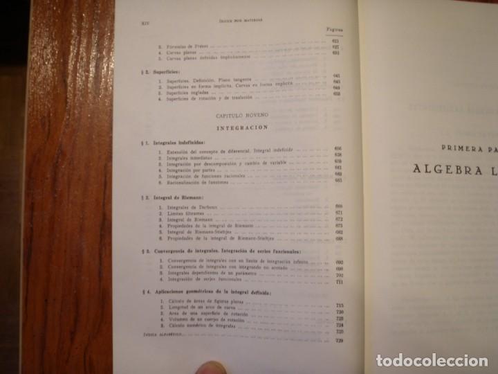 Libros de segunda mano de Ciencias: LIBRO ELEMENTOS DE MATEMÁTICAS PEDRO ABELLANAS - Foto 5 - 164863442