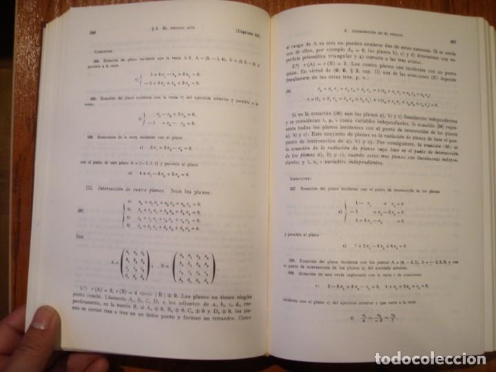 Libros de segunda mano de Ciencias: LIBRO ELEMENTOS DE MATEMÁTICAS PEDRO ABELLANAS - Foto 7 - 164863442