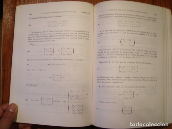 Libros de segunda mano de Ciencias: LIBRO ELEMENTOS DE MATEMÁTICAS PEDRO ABELLANAS - Foto 8 - 164863442