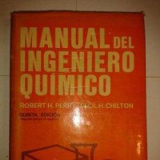 Libros de segunda mano de Ciencias: MANUAL DEL INGENIERO QUÍMICO 1982 ROBERT H. PERRY 5ª EDICIÓN MCGRAW-HILL. Lote 164884850