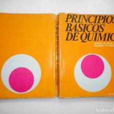 Livres d'occasion: HARRY B. GRAY, GILBERT P. HAIGHT PRINCIPIOS BÁSICOS DE QUÍMICA Y94082. Lote 165047502
