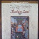 Libros de segunda mano de Ciencias: ABRAHAM ZACUT. ASTRÓNOMO, JOSÉ M. COBOS. EXTREMADURA.. Lote 165590954