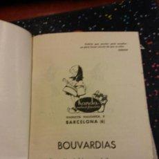 Libros de segunda mano: STQ.BOUVARDIAS.FOLLETO N 41.EDT, BARCELONA.BRUMART TU LIBRERIA.. Lote 165632154
