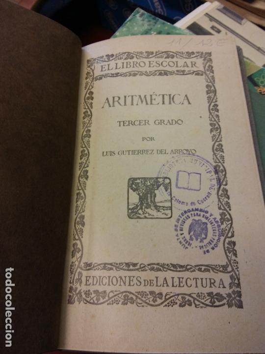 STQ.ARITMETICA.TERCER GRADO..BRUMART TU LIBRERIA. (Libros de Segunda Mano - Ciencias, Manuales y Oficios - Física, Química y Matemáticas)