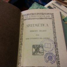 Libros de segunda mano de Ciencias: STQ.ARITMETICA.TERCER GRADO..BRUMART TU LIBRERIA.. Lote 165634066