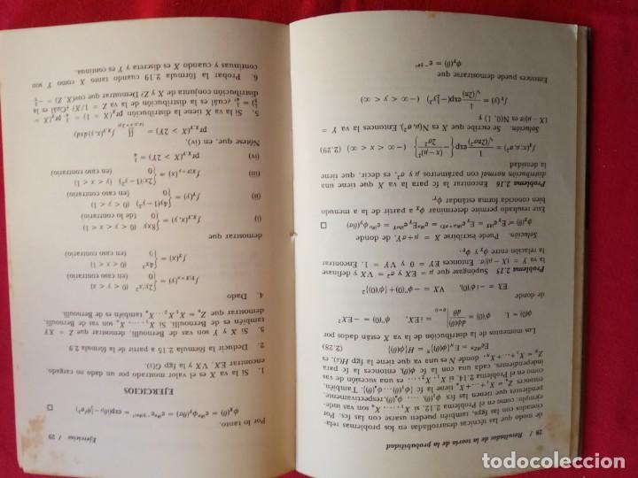 Libros de segunda mano de Ciencias: PROCESOS ESTOCASTICOS. SELECCION DE PROBLEMAS RESUELTOS. SERIE LIMUSA. R. COLEMAN. - Foto 4 - 165822826