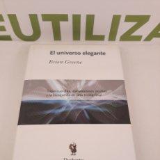 Libros de segunda mano de Ciencias - El universo elegante Brian Greene.Drakontos. - 166540945