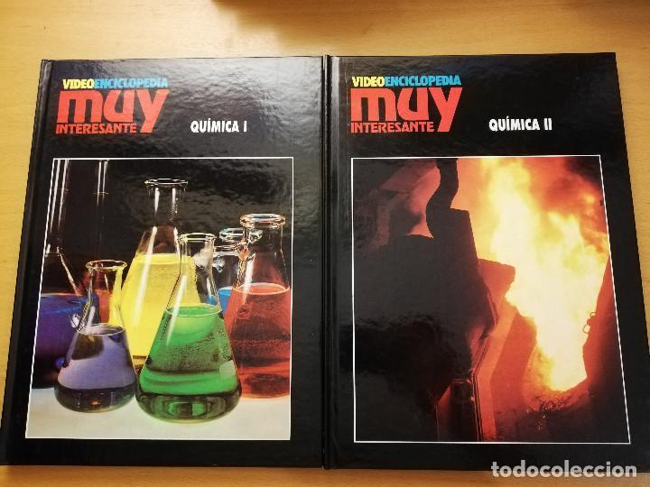 QUÍMICA (TOMO I + TOMO II) VIDEOENCICLOPEDIA MUY INTERESANTE (Libros de Segunda Mano - Ciencias, Manuales y Oficios - Física, Química y Matemáticas)