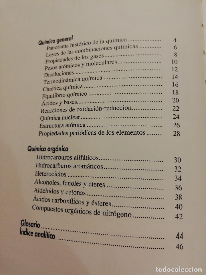 Libros de segunda mano de Ciencias: QUÍMICA (TOMO I + TOMO II) VIDEOENCICLOPEDIA MUY INTERESANTE - Foto 2 - 166724402